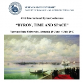 43rd International Byron Conference in Armenia