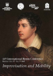 44th International Byron Conference in Ravenna - Programme